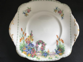 Royal Standard Rose arch serving plate